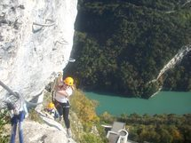 *Via Ferrata -  Fort L`Ecluse*